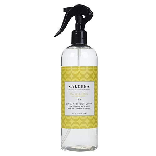 Caldrea Linen and Room Spray, Sea Salt Neroli, 16 oz (Pack of 2)