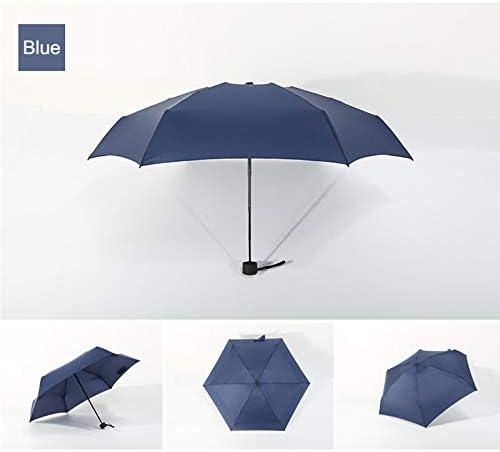 Wasserdichter Regenschirm, Mini-Taschenklappschirm 5-Fach Ultraleicht Tägliche Reise Frauen Männer Regenschirm