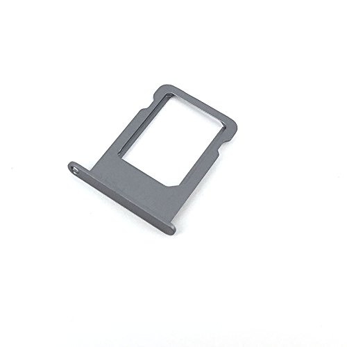 E-repair SIM Tray Holder Slot Replacement Part for iPhone 5 5S (Grey) - Sim Iphone 5