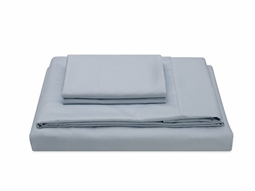 Molecule Bed Sheets with Air-Engineered Cooling Recovery, TENCEL/Cotton blend (Powder Blue, King) (Recovery Peak)
