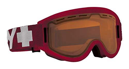 Spy Optic Getaway 313162202185 Snow Goggles, One Size (Matte Burgundy Frame/Persimmon Lens) (Lens Burgundy Frame)