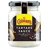 Original Colman's Tartare Sauce Imported From The UK England Tartar Sauce Creamy Tartar Sauce Made with gherkins and capers The Best Of British Colmans Tartare Sauce 144g