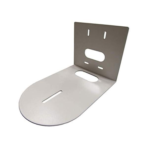 AV Brackets PTZ Camera Universal Mounting Bracket Compatible with HuddleCam PTZOptics Small Universal White HCM 1