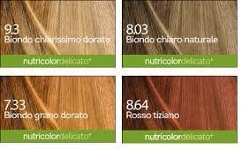 Bios Line – Tinte Biokap Nutricolor Delicado - tono 7.33 ...