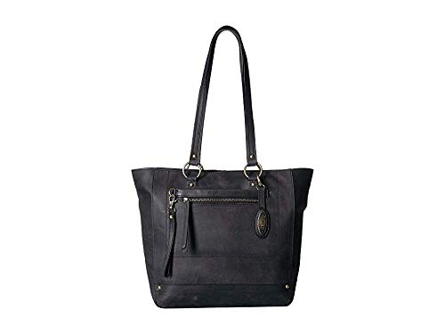 - Born Womens Wellsley Tote w/Pouch Black One Size