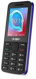 Unlocked Alcatel 2038X 3G Mobile Phone (Persian Blue). Torch, FM Radio, 3.5mm Headphone Jack, Music Player, Bluetooth, Will work with any Sim Card Worldwide