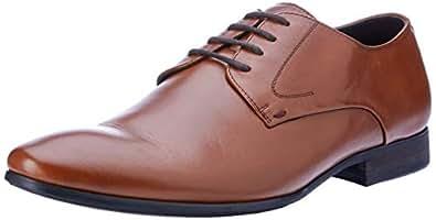 Windsor Smith Men's Bently Dress Shoe, Whisky, 7 AU