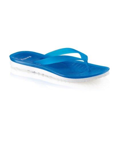 tailles différentes Bleu et pantolette couleurs femme Pour strap v semelle blanc qUwU40