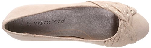 Rose Marco Donna Tozzi Punta Chiusa Comb Rosa Ballerine 22101 rBwaqFWzB