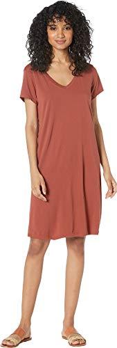 Star Womens Tee - Michael Stars Women's Cotton Modal Cassandra Tee Dress Penny Small