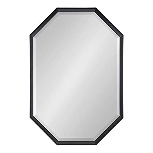 Kate and Laurel Calter Elongated Octagon Framed Wall Mirror, 25.5x37.5, -