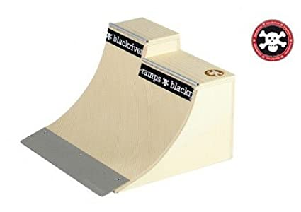 Blackriver Ramps Fingerboard Rampe Extension Quarter - Holz Fingerboard Rampe