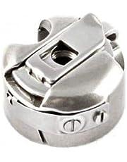 La Canilla ® - Canillero Caja Bobina Porta Canillas para Máquinas de Coser Industriales Alfa, Juki, Singer, Brother REF. 52237 (BC-DB1NBL) Con Freno