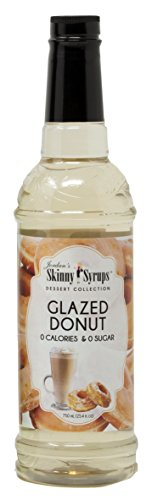Jordan's Skinny Syrups |  Sugar Free Carmel Glazed Donut Syrup | Healthy Flavors with 0 Calories, 0 Sugar, 0 Carbs | 750ml/25.4oz Bottle