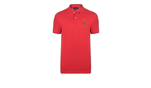 Ralph Lauren - Polo - para Hombre Rojo Fuego XXX-Large: Amazon.es ...