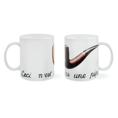 Magritte Pipe Mug