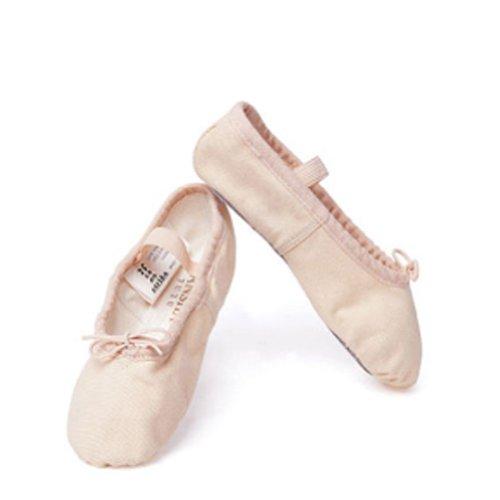 Sansha Pink Ballet Full Leather Sole Ballet Shoes Toddler Gi