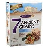 Crunchmaster 7 Ancient Grains Crackers, Sea Salt, 3.5-Ounce (Pack of 12)