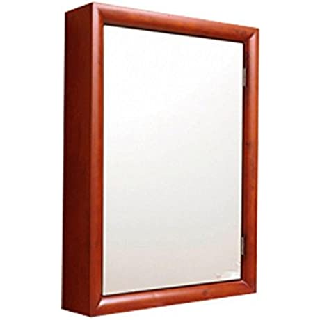 DECOLAV 9725 CW Stained Wood Medicine Cabinet Cherry