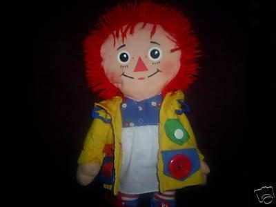 Dress Me Raggedy Ann Plush Doll (1991)