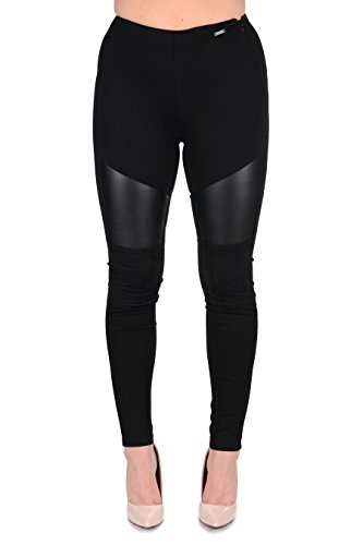 Donna Donna Leggings Brigitta Guess Leggings Guess Brigitta Nero Nero Guess qxa1Cf
