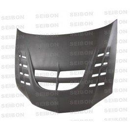 Seibon 2003-2007 MITSUBISHI LANCER EVO VIII / IX CWII-DRY Carbon Fiber Hood (HD0305MITEVO8-CWII-DRY ) Evo 8 Seibon Carbon Fiber