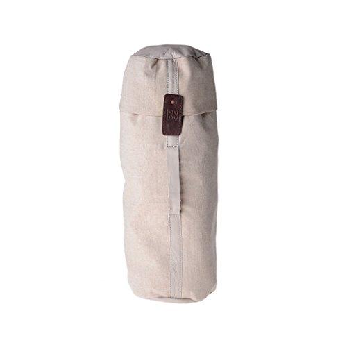 Mochila piel teñida en prenda estilo vivido vintage 2 correas DUDU Cocoa Brown