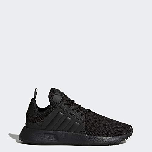 adidas Originals Unisex-Kid's X_PLR EL Running Shoe, Black/Black/Black, 3 M US Little Kid