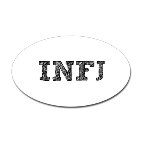 INFJ Oval Sticker