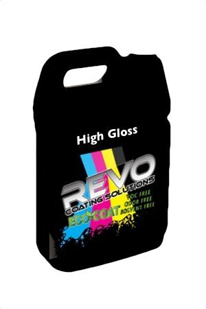 REVO ECO-Coat 3006 High Gloss UV Coating for Digital Print - 1-Gallon