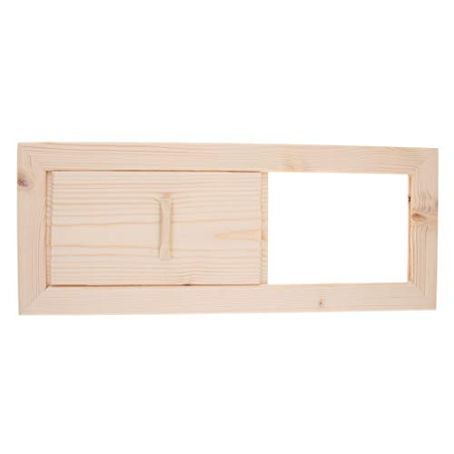 Cedarwood Sauna - Flameer Sauna Louver Vent Gable Attic Siding Ventilation Cedar Wood