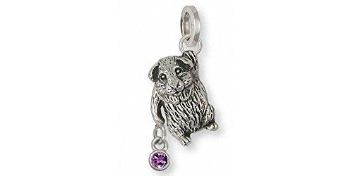 Guinea Pig Jewelry Sterling Silver Guinea Pig Charm Handmade Piggie Jewelry GP3-SC