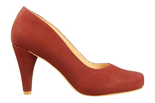 Orange Chaussures Rouille Rose 26132272 CLARKS Dahlia dXxz6Xf