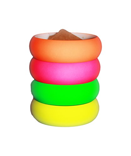 (Neon Nation 4 Pack 1980s Style Costume Bracelets 1