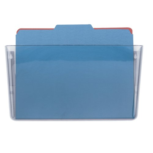 Mountable Hanger - Officemate Wall File Letter Size, Clear (21434)