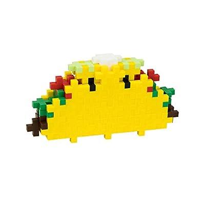 PLUS PLUS – Mini Maker Tube – Taco – 70 Piece, Construction Building STEM | STEAM Toy, Interlocking Mini Puzzle Blocks for Kids: Toys & Games