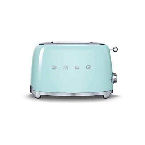 Smeg 2 Slice Toaster - Pastel Green