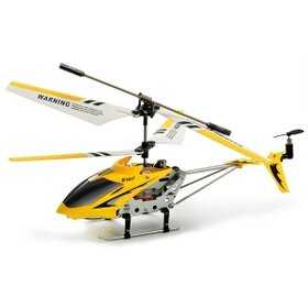 Syma 3 Channel S107/S107G Mini Indoor Co-Axial R/C Helicopter w/ Gyro (White Color)