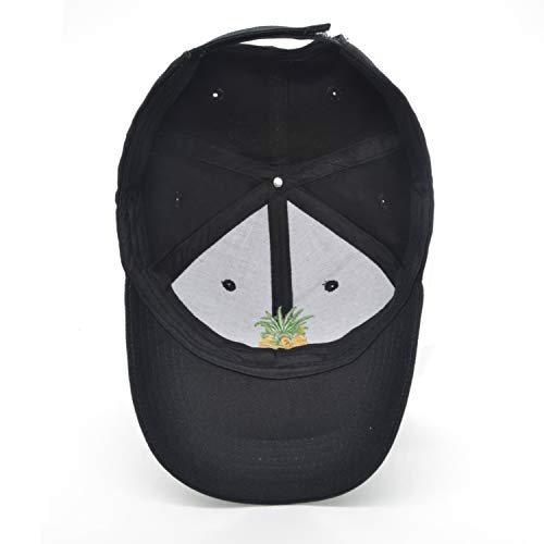 b214299441d74 Pineapple Dad Hat Baseball Cap Sun Cap Snapback Adjustable 100% Cotton  Outdoor Sports Cap