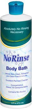 NR00910EA - No-Rinse Body Bath 16 oz. by Clean Life Products