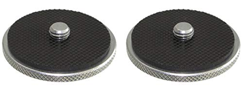 2 Pack Rock Steady Jumbo SS Stainless Steel 1/4