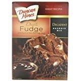 Duncan Hines Decadent Brownie Mix, Double Fudge, 17.6 Ounce (Pack of 6) by Duncan Hines by Duncan Hines