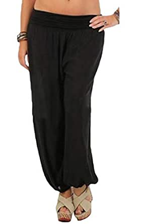 Sweatwater Womens Sport Yoga Jogger Casual Wide Leg Pull
