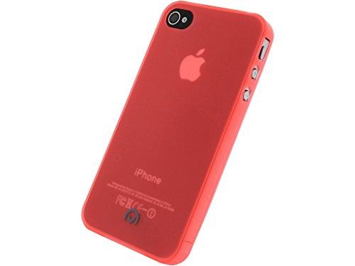 Mobilize Gelly Case Ultra Thin Apple iPhone 4/4S Neon Orange