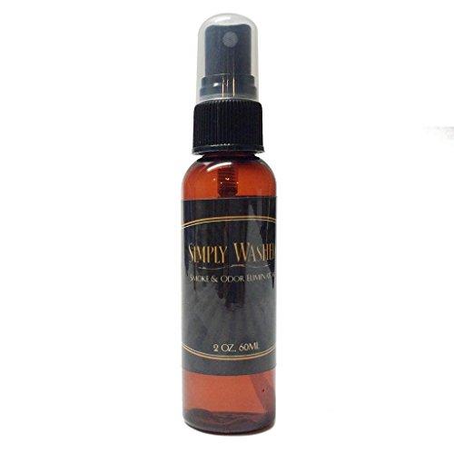 Simply Washed Smoke & Odor Eliminator - Get Back to a Zero Odor & Zero Smoke Smell (2oz) by Mari Kyrios Creations