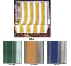 Tende Da Sole Con Anelli.Tenda Da Sole Tessuto Resistente Per Balcone Con Anelli Lavabile