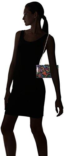 Print Multicolour Dal Van Women's Black Zinnia Paradise Clutch wxY11Cnqr