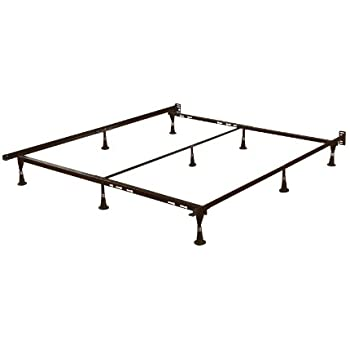 signature sleep universal metal adjustable bed frame twin full queen kitchen dining. Black Bedroom Furniture Sets. Home Design Ideas