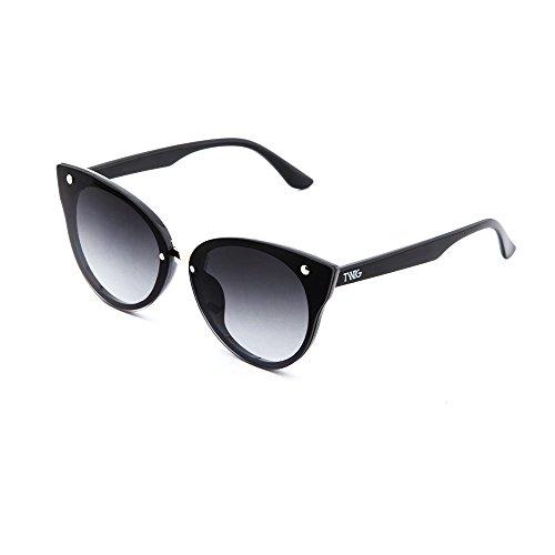 Negro TWIG Gafas degradadas sol espejo de mujer Degradado FRIDA Negro cCqxPZvwC8