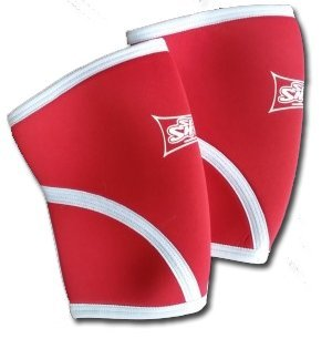 UPC 806800150323, SlingShot Knee Sleeves by Mark Bell (pair) (Red, 30-33 cm - XSmall)